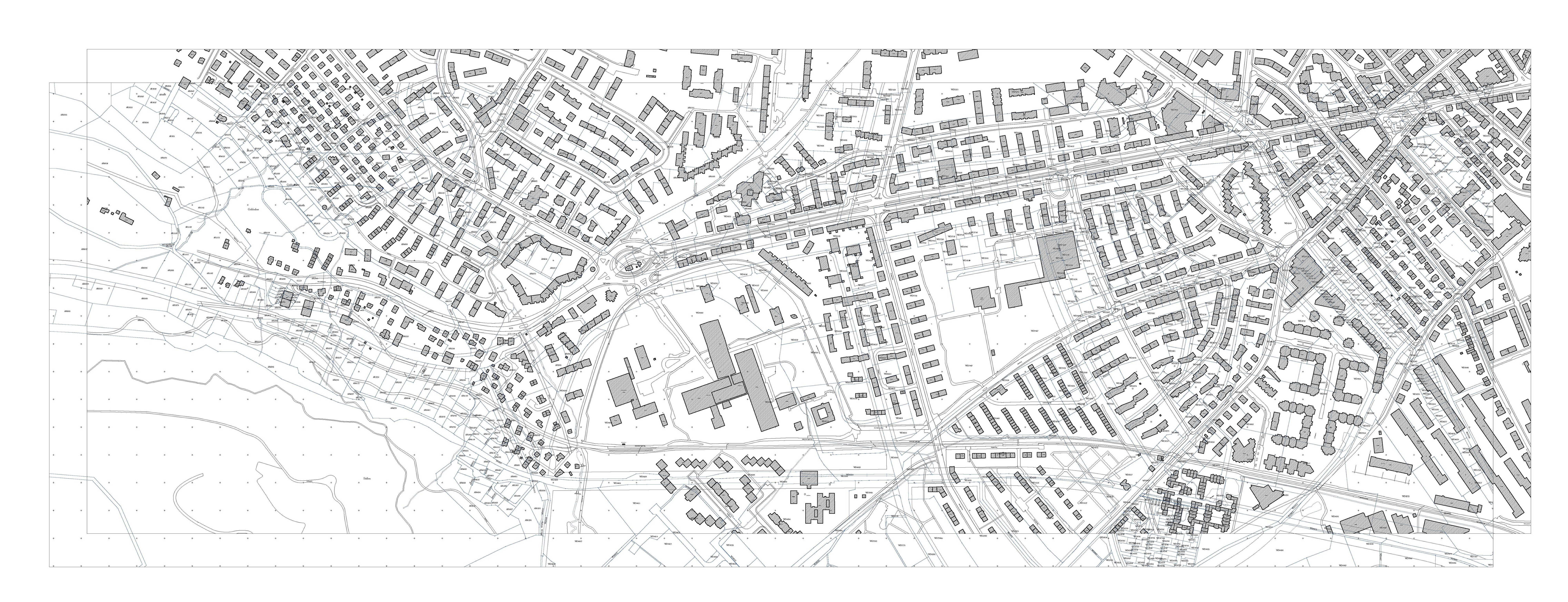The Beauty of the Cadastral Map by Jan Engelke & Lukas Fink (183AC on dominion land survey, aerial map, construction map, ohio indian reservations map, land description, wetlands map, survey map, political map, construction surveying, agriculture map, recorder of deeds, lodz poland map, education map, thematic map, topographical map, geologic map, choropleth map, climate map, geospatial map, aeronautical chart, topographic map, pictorial maps, crown land, contemporary world map, drainage map, land map, taiwan population density map, silesia prussia map, nautical chart, torrens title, gis map, real property,