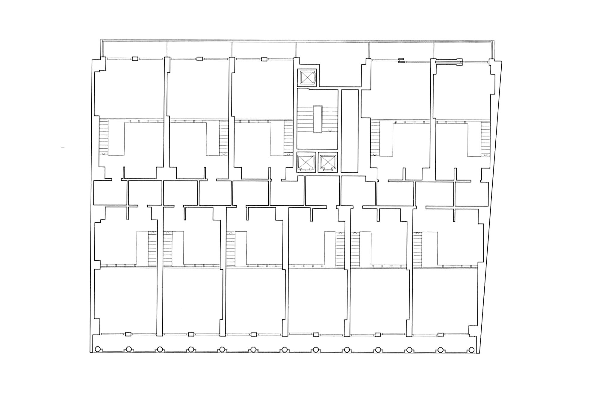 Casa Albergo By Giulio Minoletti 572ar Atlas Of Places