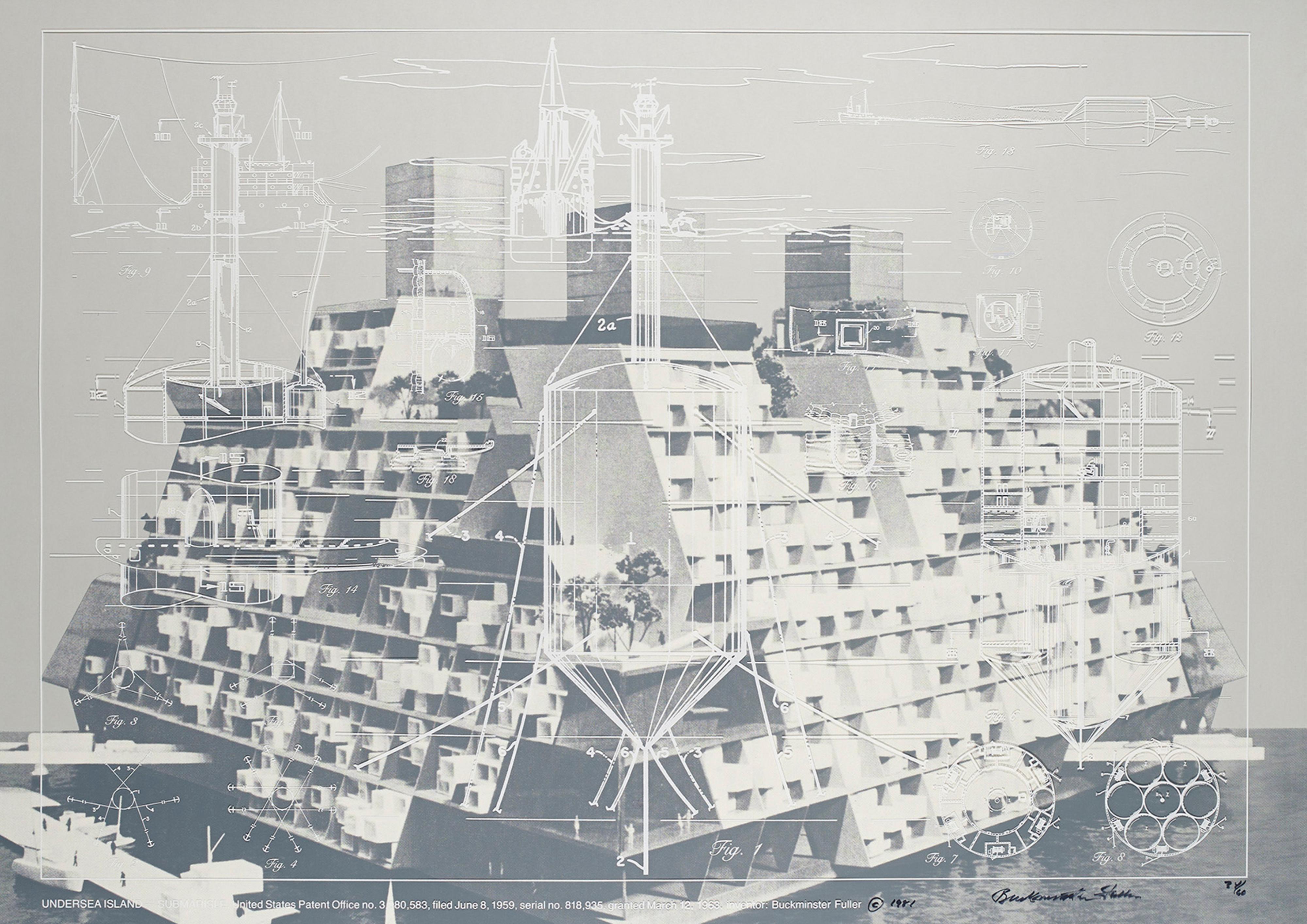 XII works by Richard Buckminster Fuller (322AR) — Atlas of