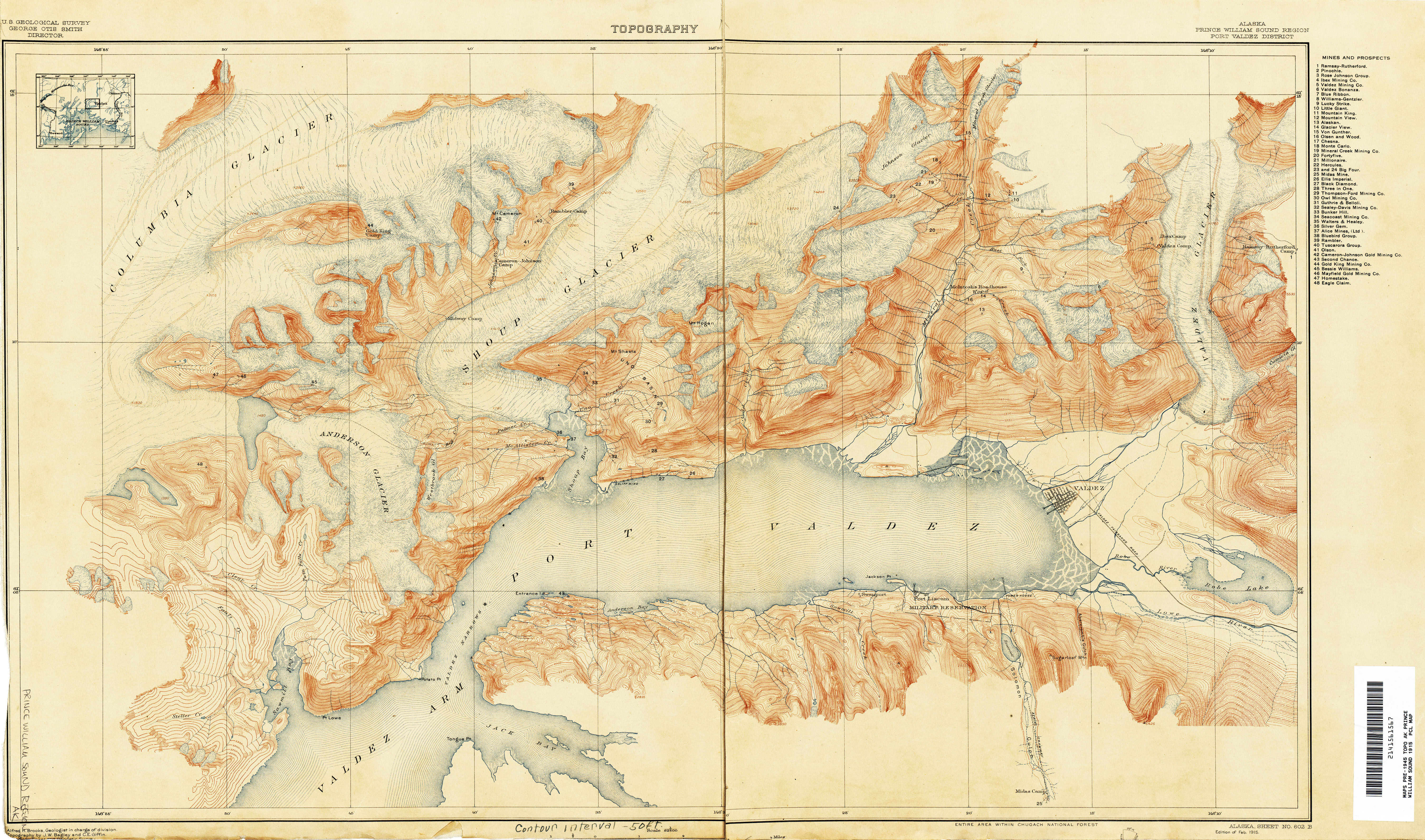 Alaska Topographic Maps By Usgs 314ca Atlas Of Places
