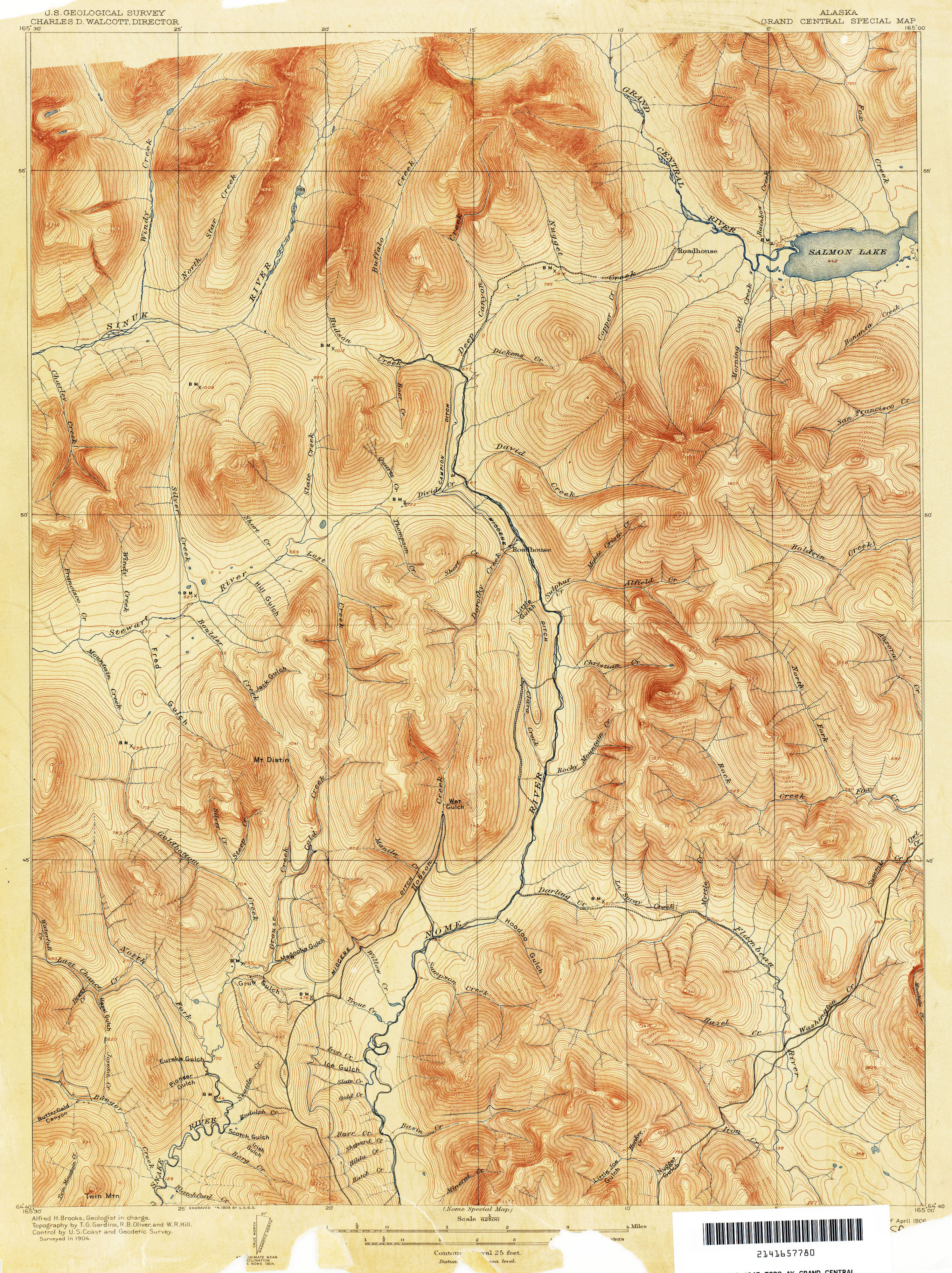 Alaska Topographic Maps by USGS (314CA) — Atlas of Places