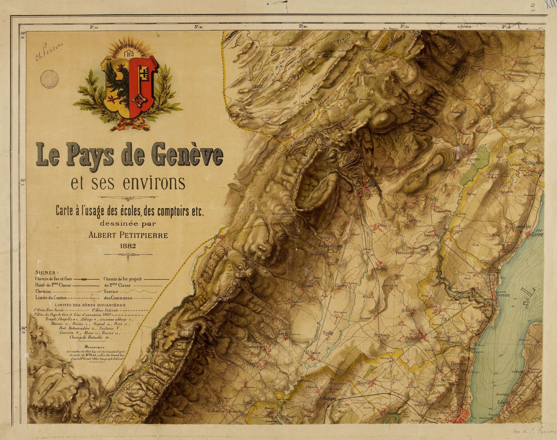Le pays de Genève et ses environs