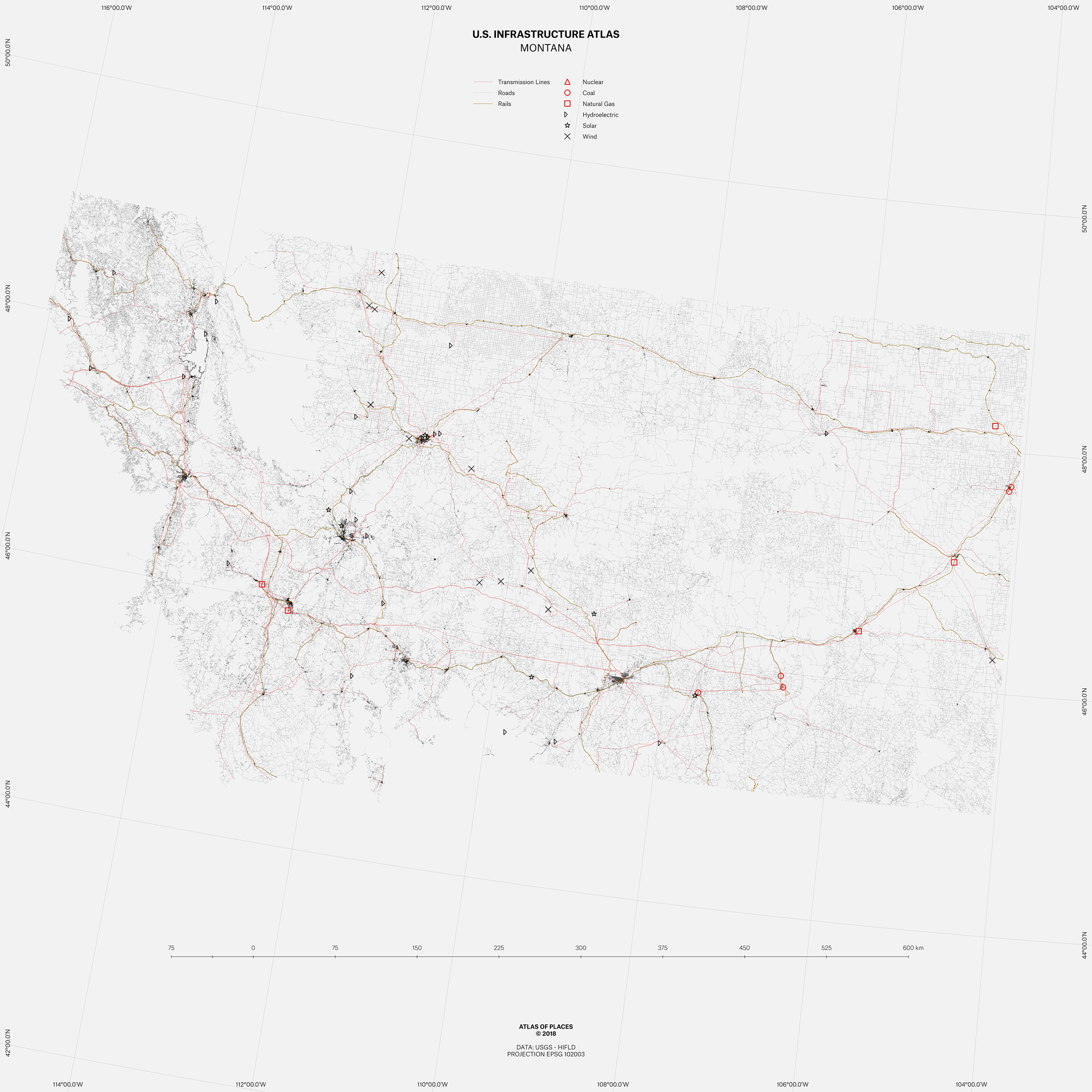Atlas of Infrastructure III