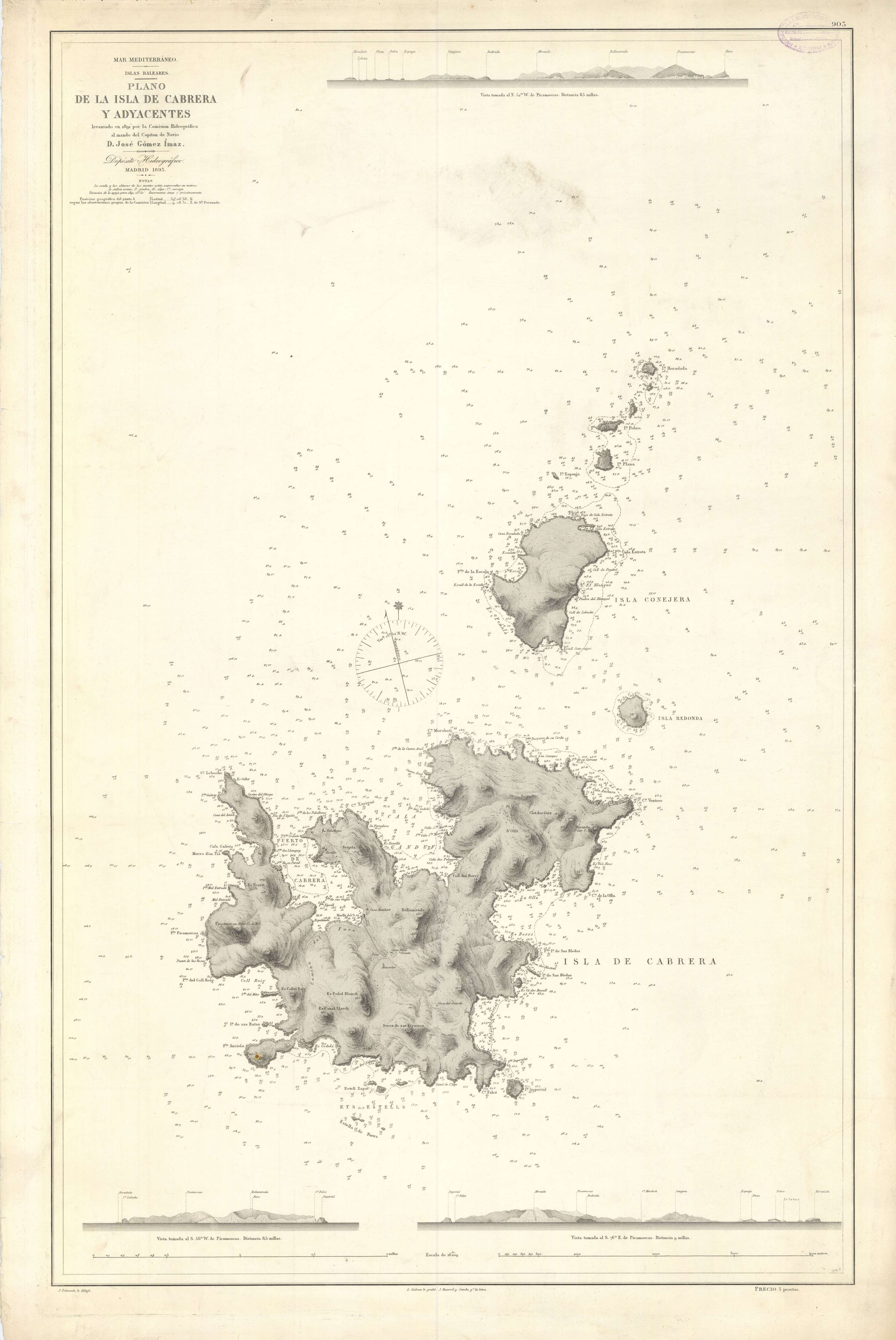 Isla de Cabrera y adyacentes