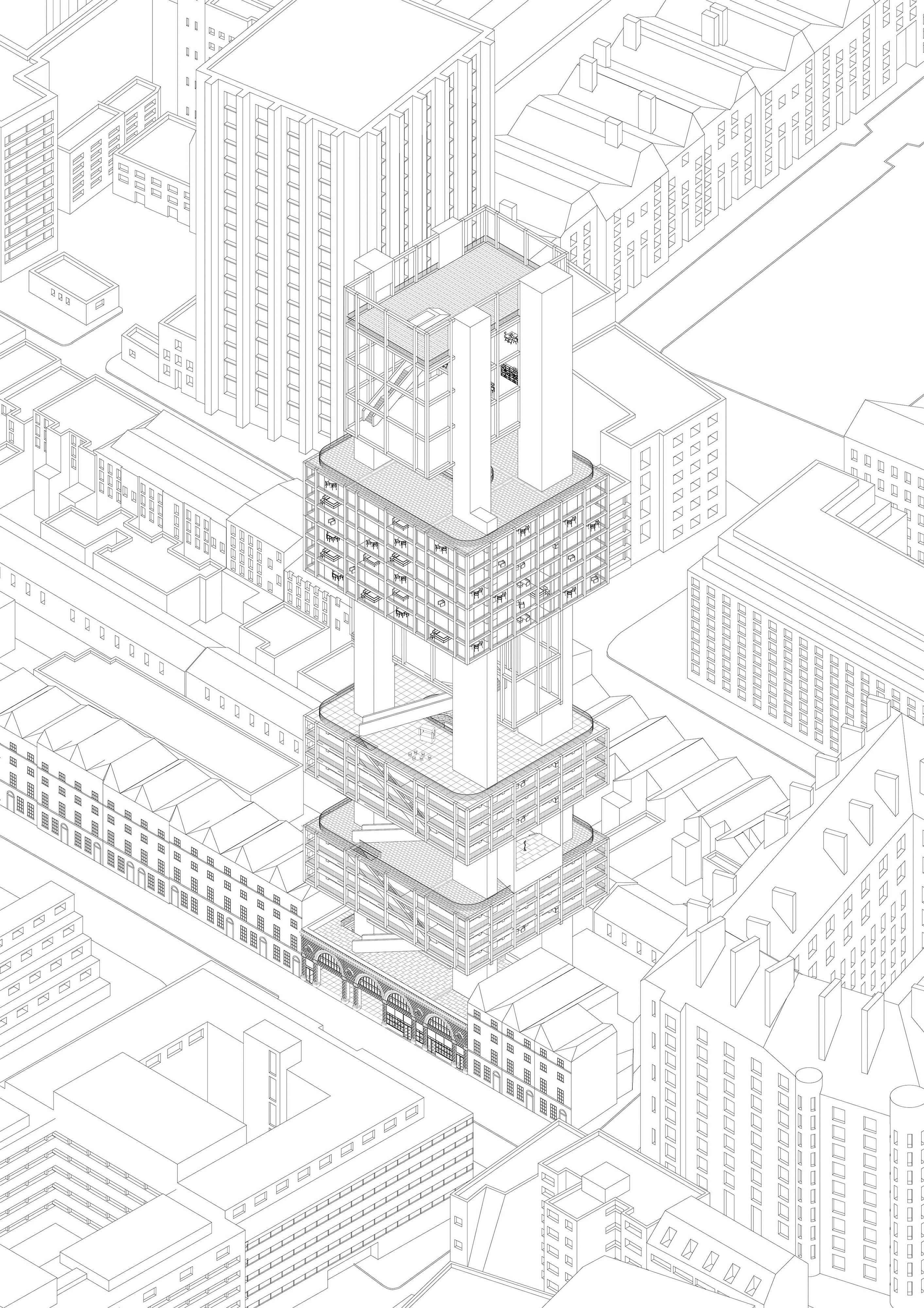 The Vertical Open City