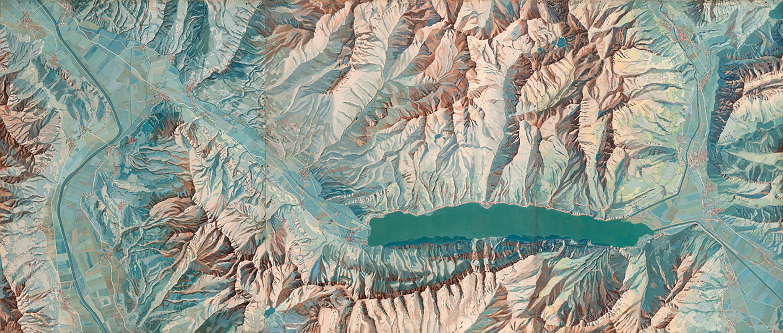 Kartograph und Künstler