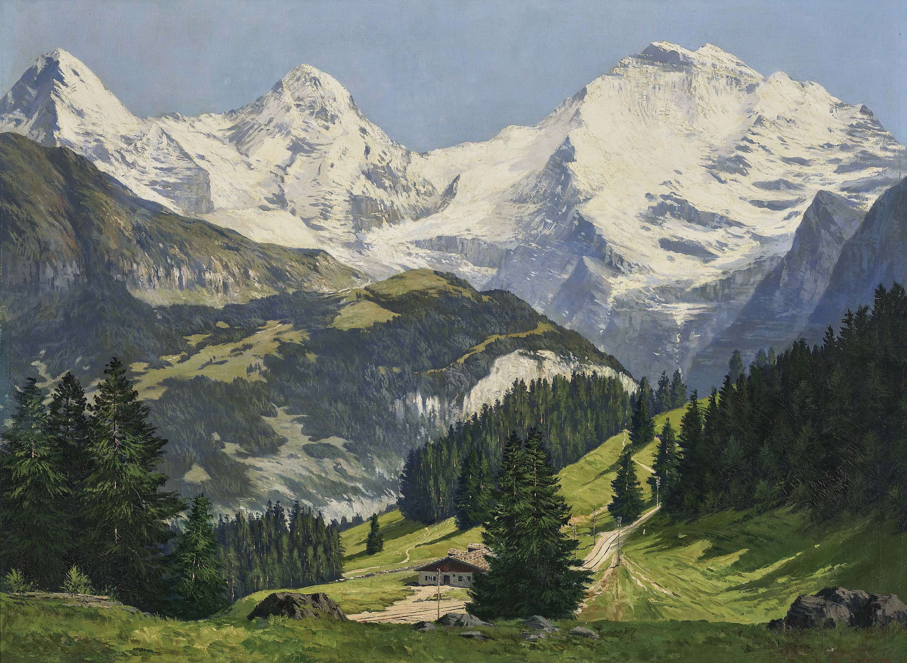 Alpine Scenery