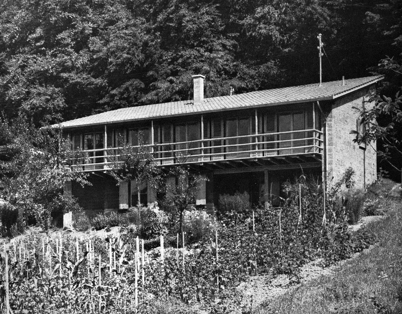 Ländliches Wohnhaus