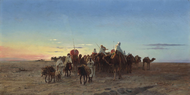 Scènes de la vie nomade
