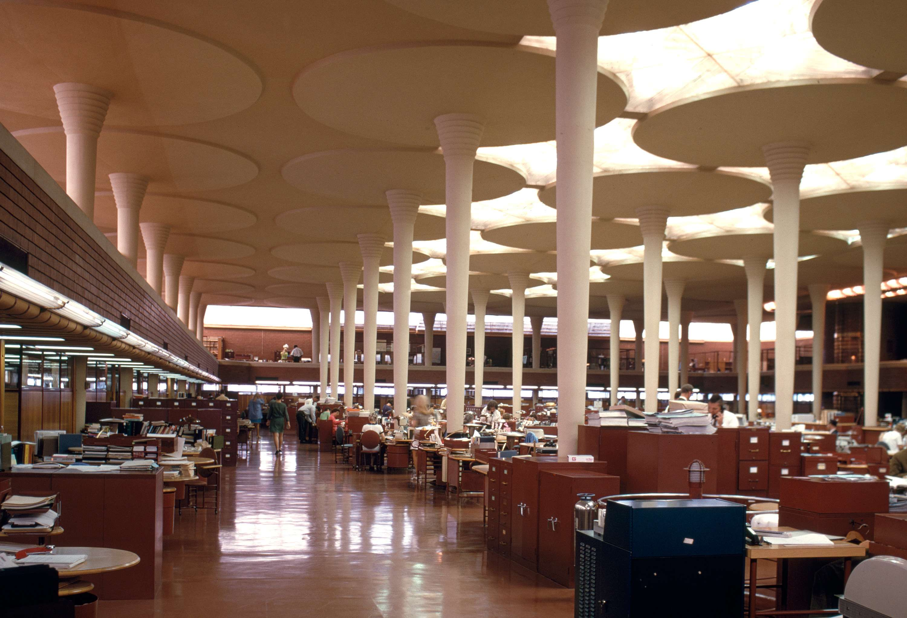 Johnson Wax Headquarters By Frank Lloyd Wright 613ar