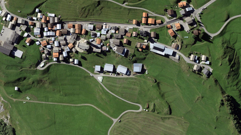 Betriebsgebäude Mazlaria und Ställe