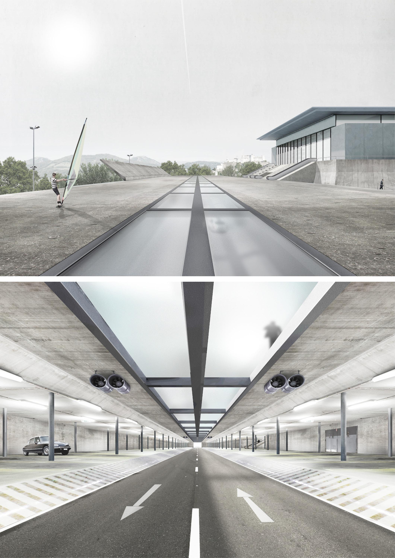 Salzburg Messeparkplatz