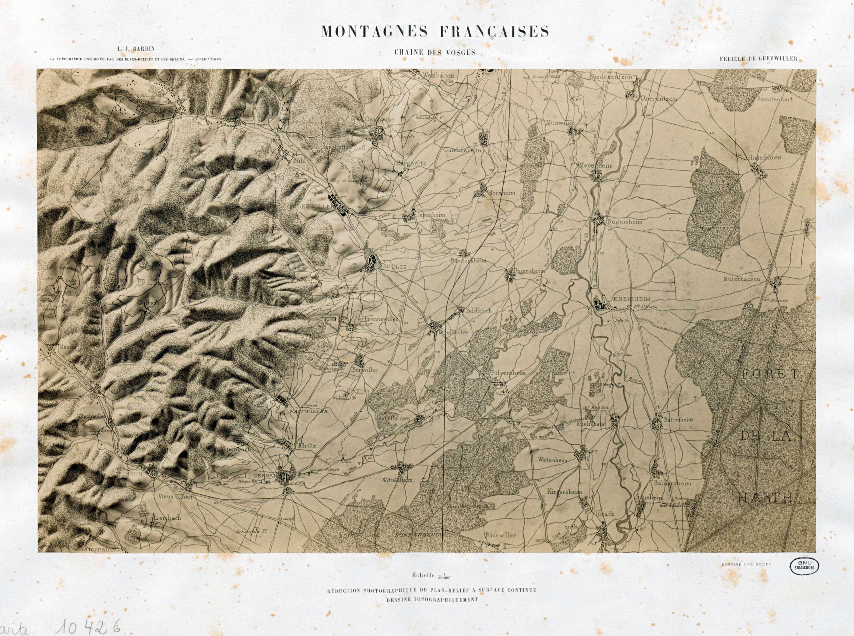Montagnes françaises, chaine des Vosges