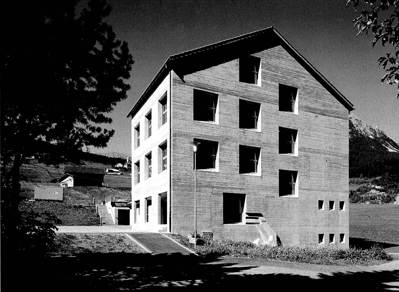 Erweiterung der Schulanlage von Riom-Parsonz