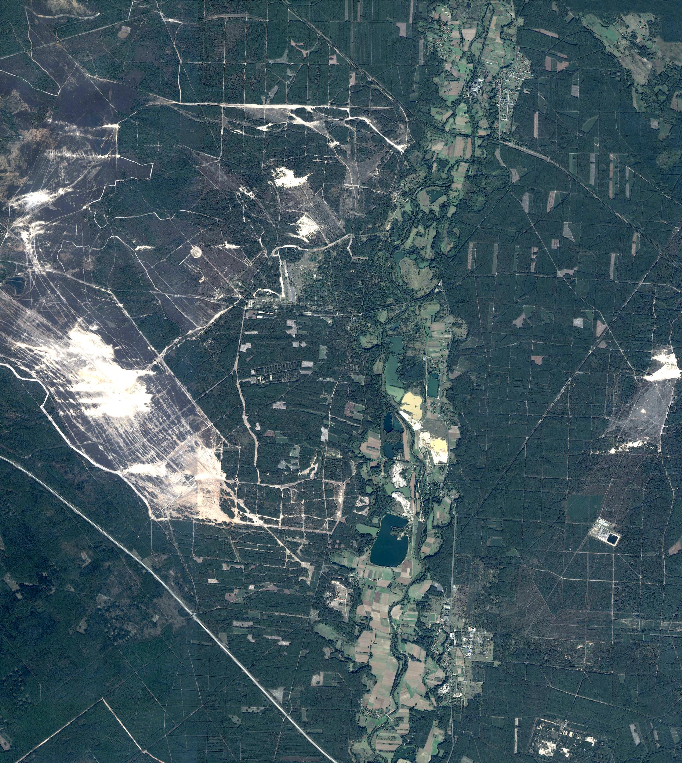 The ruined landscape of Pstrąże