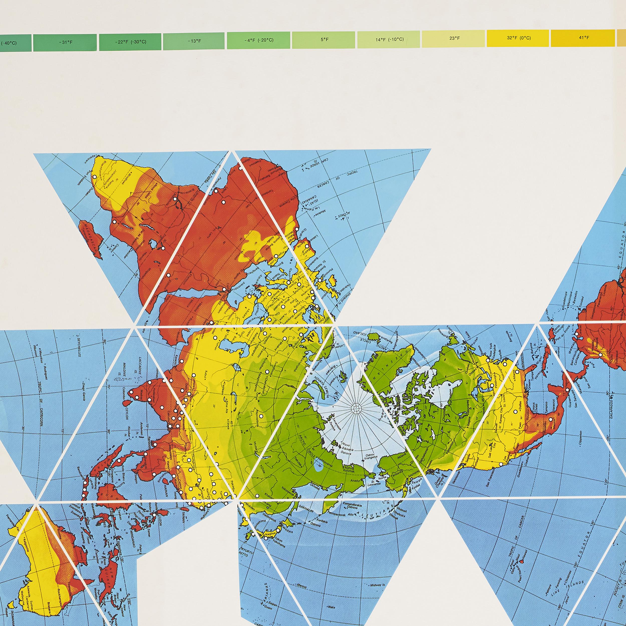 Dymaxion World Map