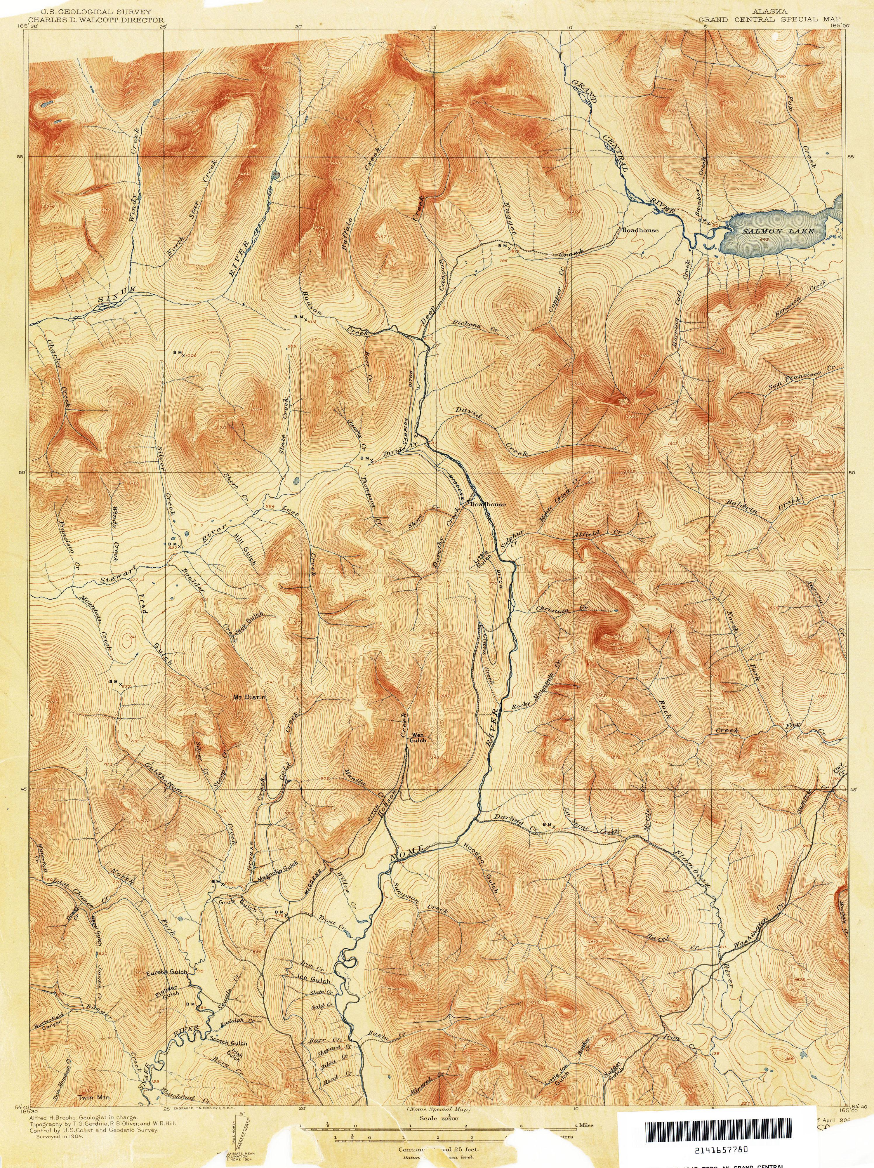 Alaska Topographic Maps