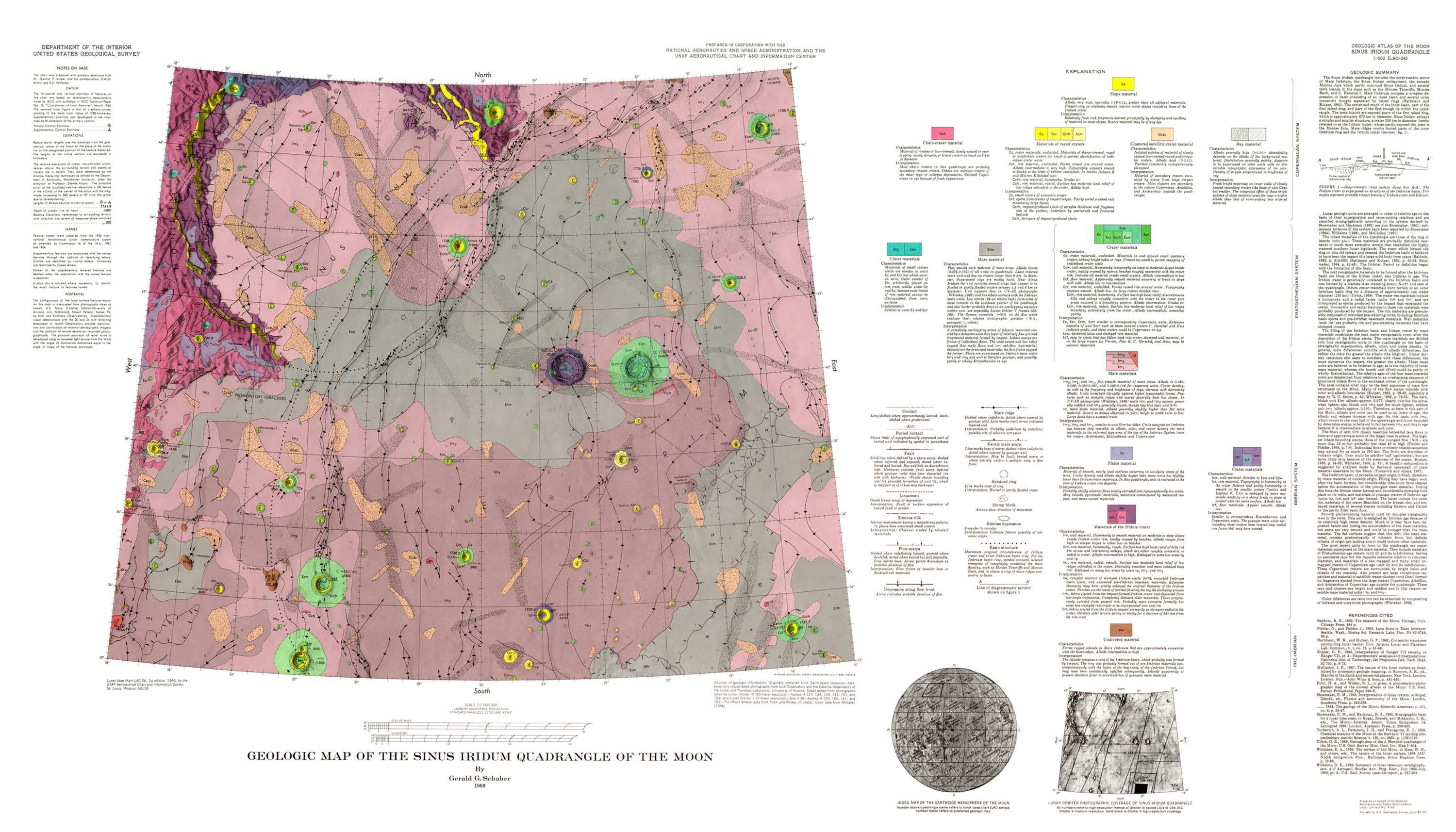 Geologic Atlas of the Moon