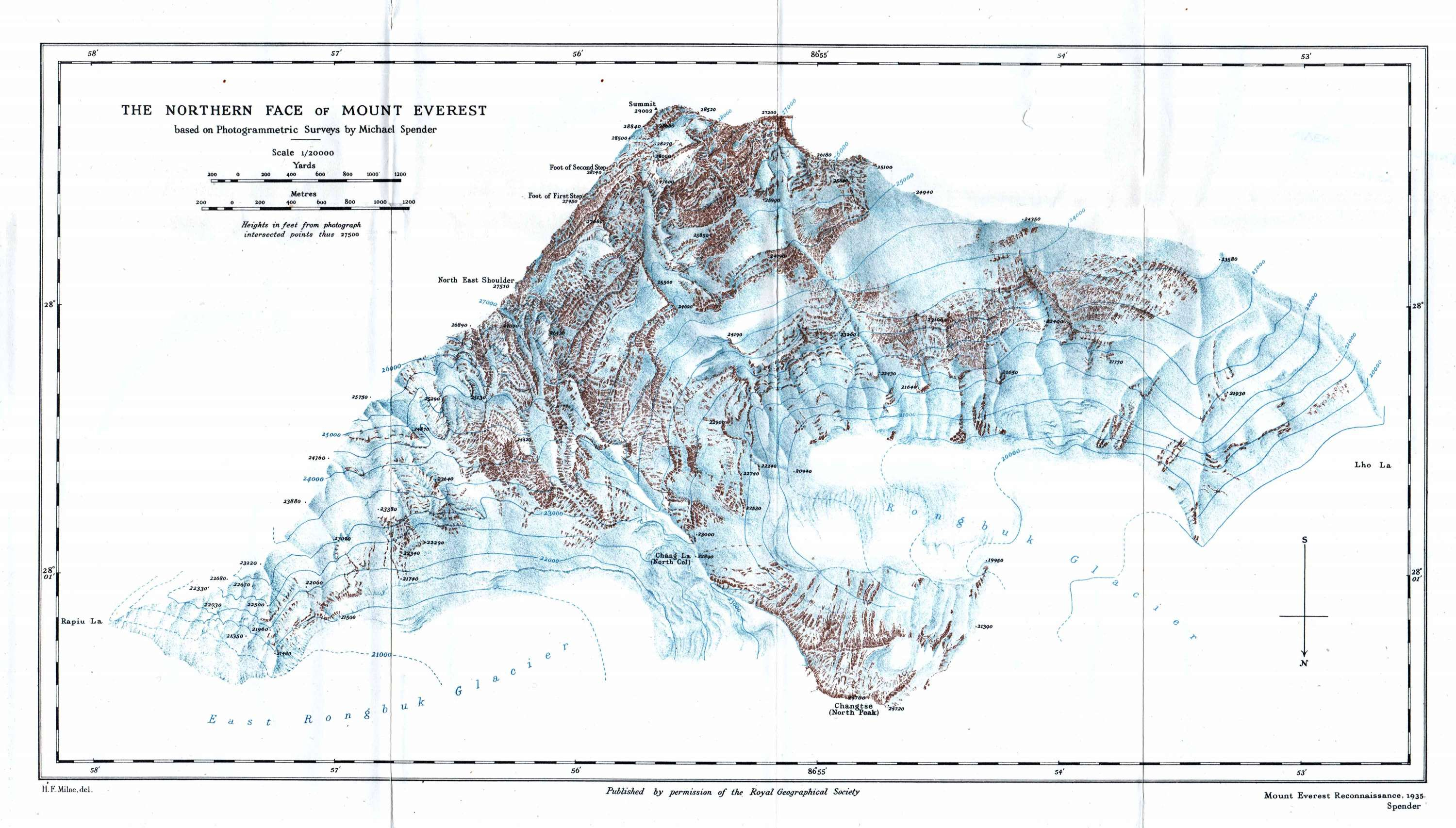 Mount Everest Cartography