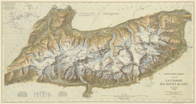 La chaîne du Mont-Blanc