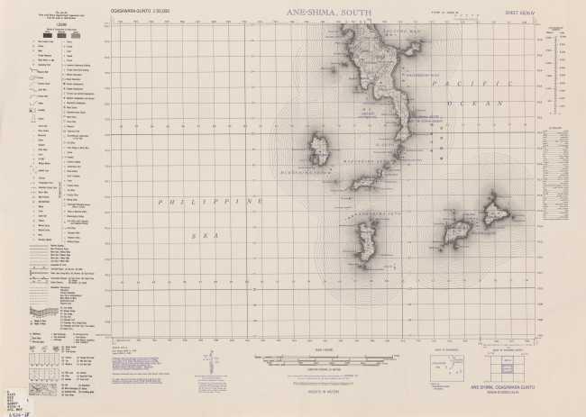 u s  army map service: ogasawara-gunto